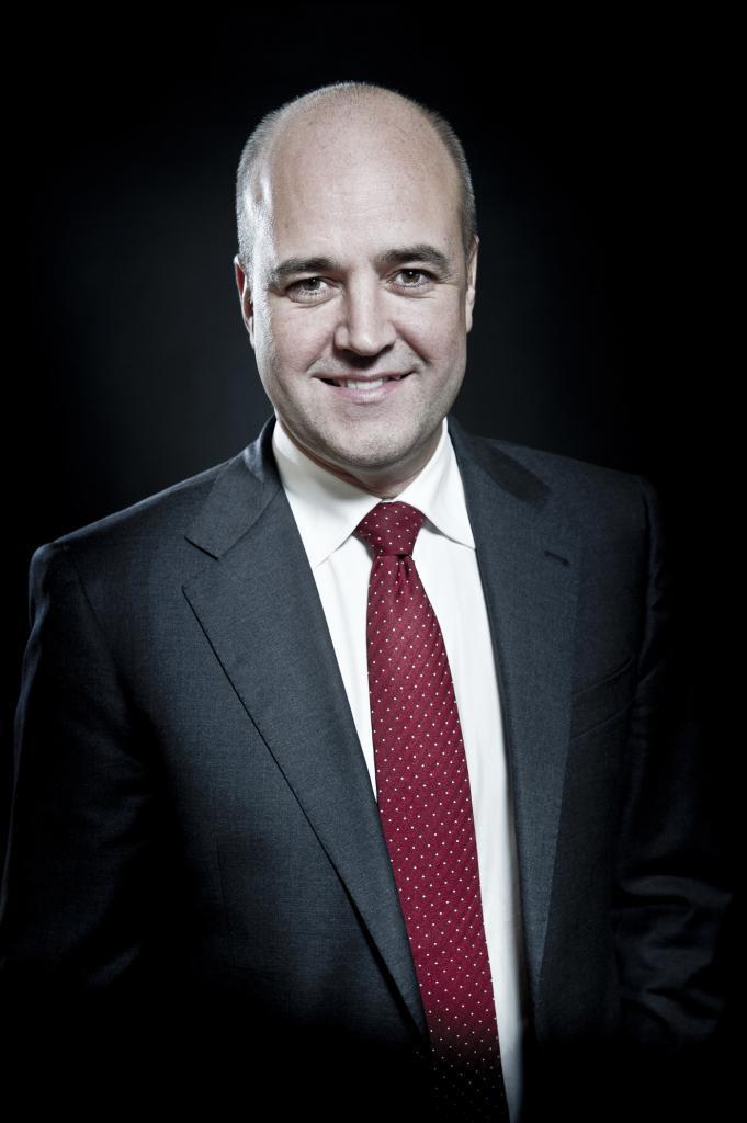 Omslagsjobb Fredrik Reinfeldt för magasinet Fokus