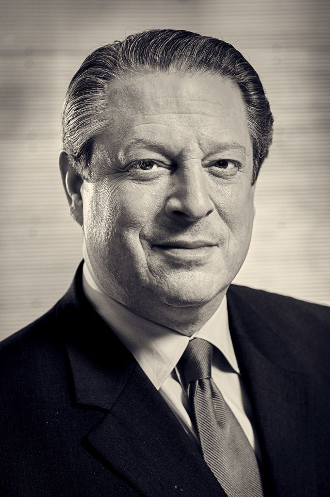 Portrait of Al Gore