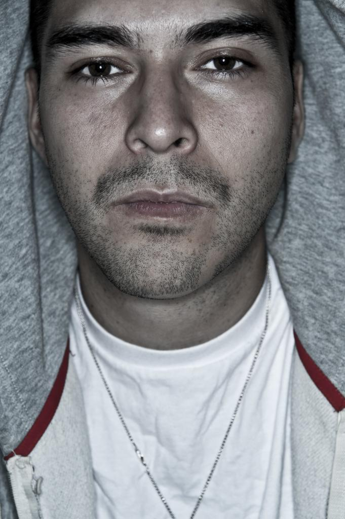 Portrait of producer Masse Salazar of Redlinestudios