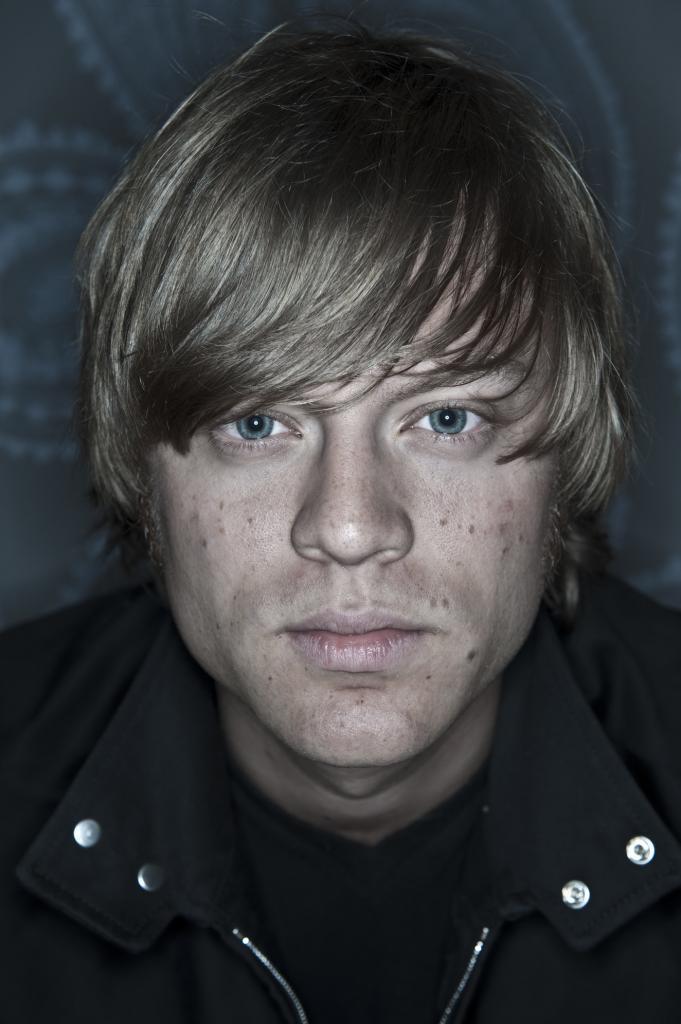 Portrait of Björn Dixgård from Mando Diao