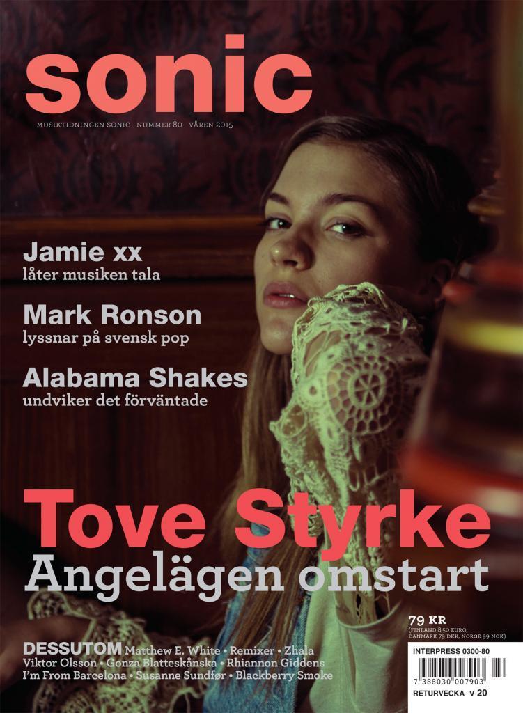 Tove Styrke Sonic Magazine