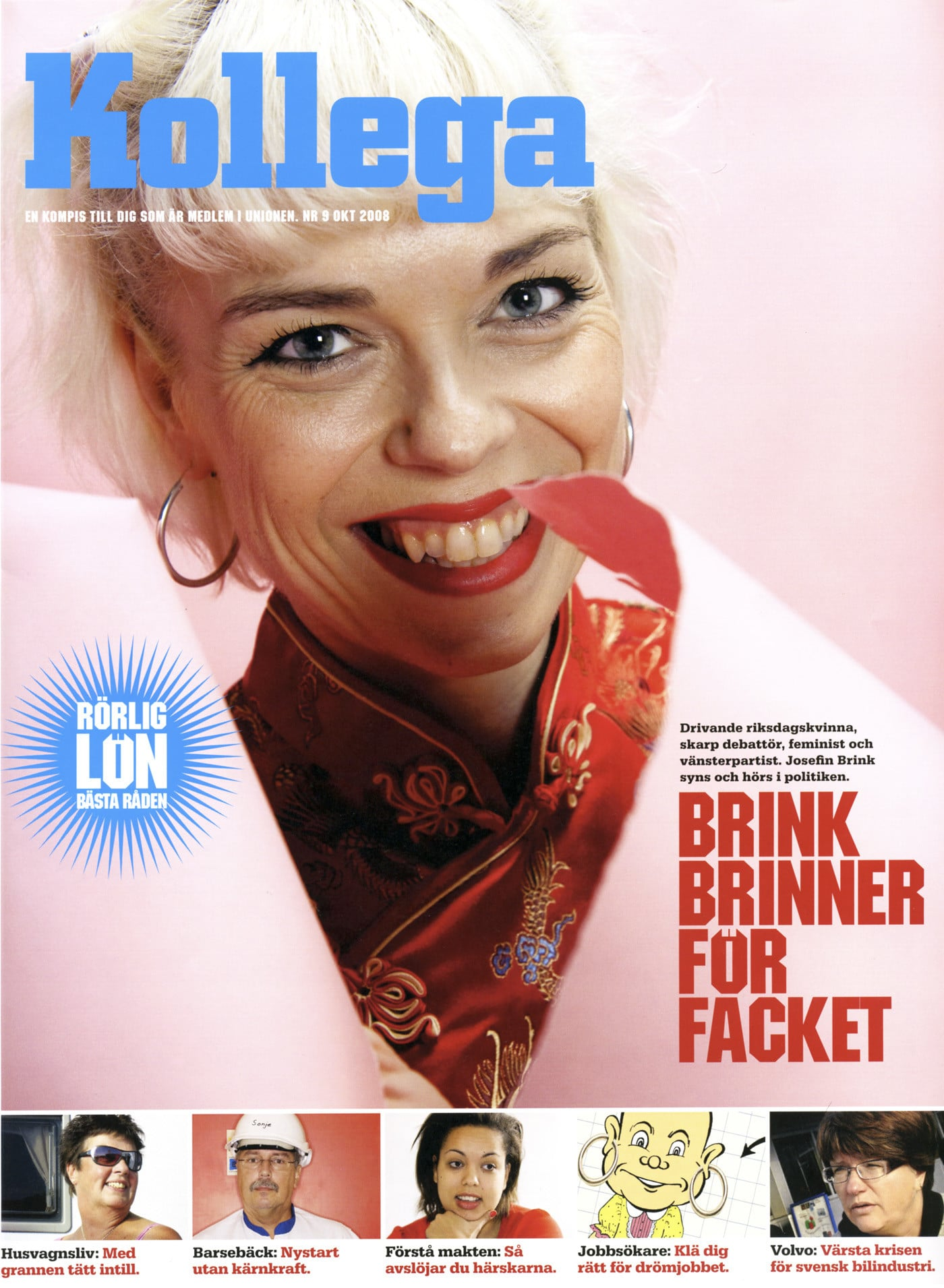 Josefin Brink för Kollega.
